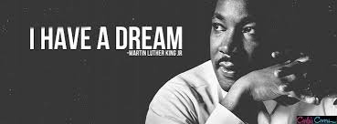 The anthem lyrics are from the 'I Have A Dream' speach.
